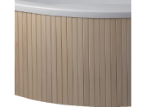 Dřevěný panel boční exclusive pro vany HOPA