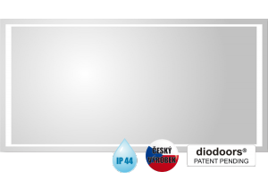 VLTAVA 80x60 Hopa zrcadlo