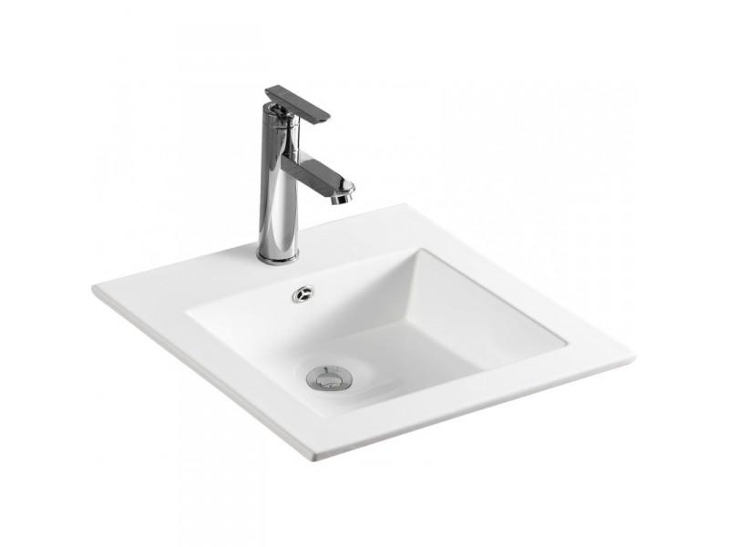 ANETA Well umyvadlo zápustné 41 x 41 cm bílé