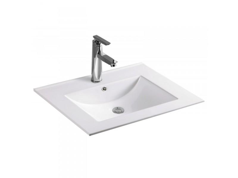 ANETA Well umyvadlo zápustné 60  x 46 cm bílé