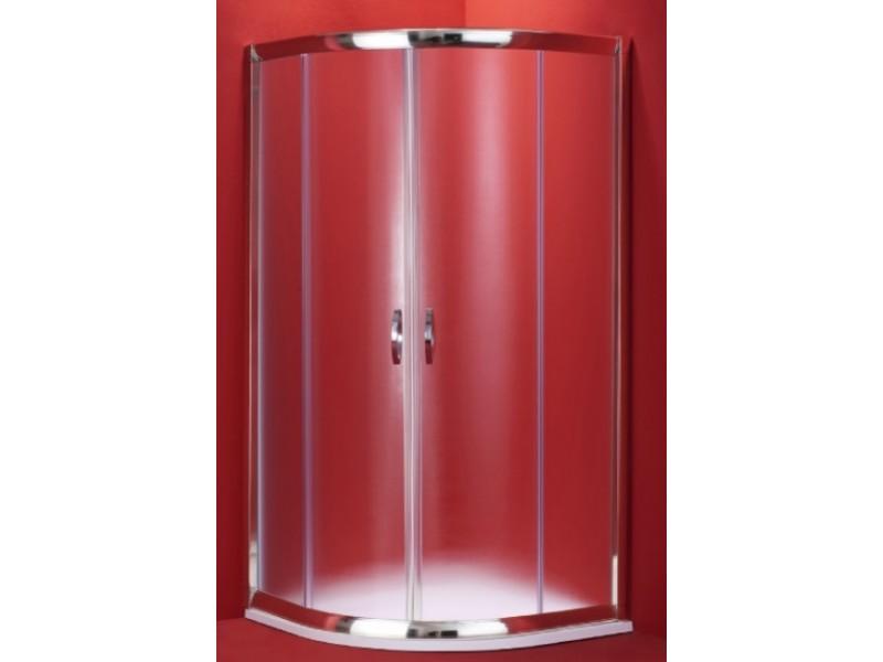 BARCELONA 90×90 chrom rám čirá Olsen-Spa sprchový kout