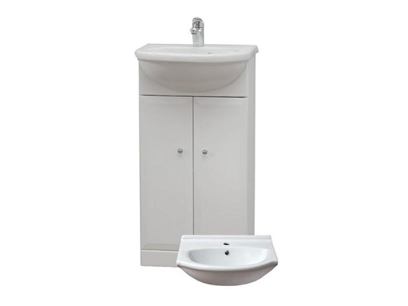 BEATA 40 Well Koupelnová skříňka s umyvadlem, sokl