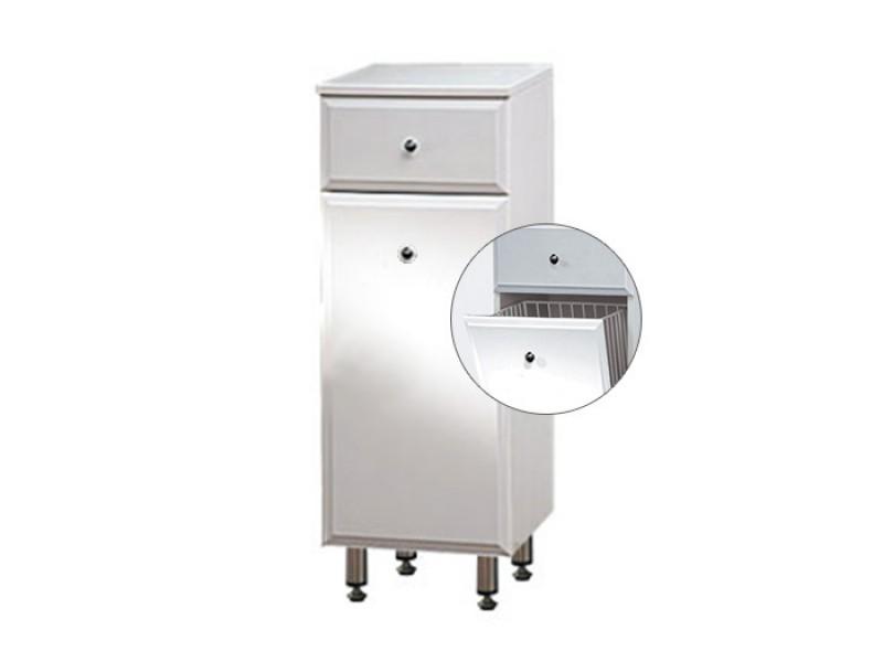 BEATA NK 32 ZV Well Koupelnová skříňka spodní, závěsná s nožičkami, koš