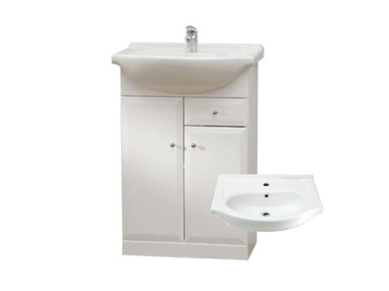 BEATA S 50 Well Koupelnová skříňka s umyvadlem, sokl, zásuvka
