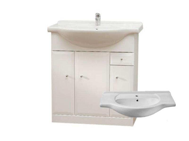 BEATA S 75 Well Koupelnová skříňka s umyvadlem, sokl, zásuvka