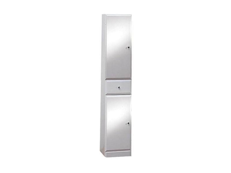 BEATA V 170 L Well Koupelnová skříňka vysoká plná, sokl, levá