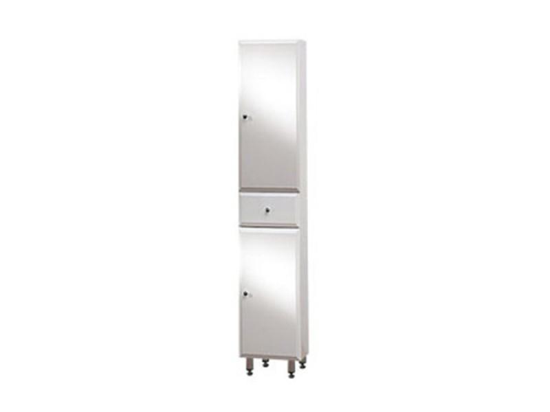 BEATA V 170 ZV P Well Koupelnová skříňka vysoká plná, závěsná s nožičkami, pravá