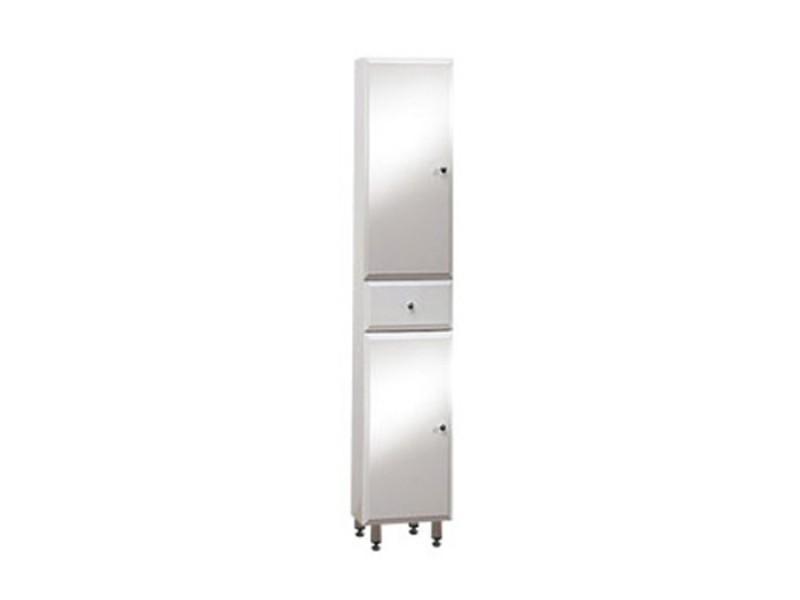 BEATA V 170 ZV L Well Koupelnová skříňka vysoká plná, závěsná s nožičkami, levá