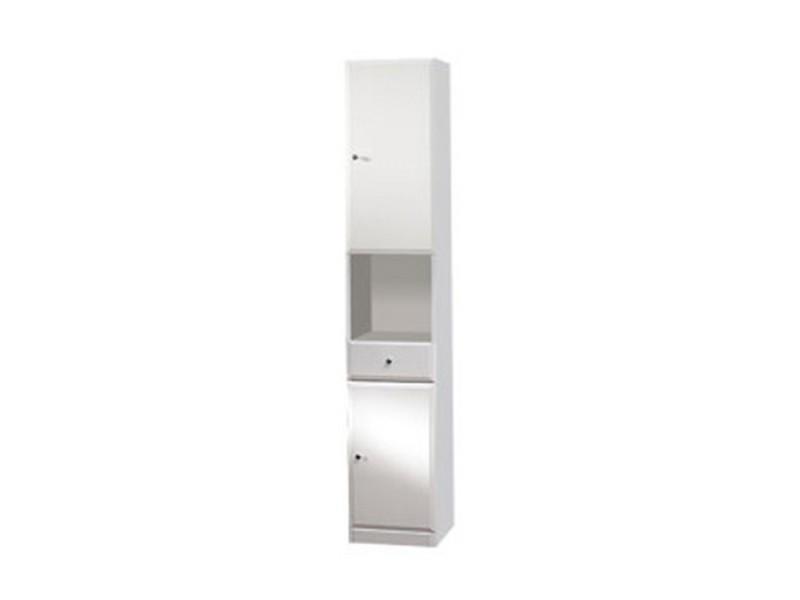 BEATA V 32 P Well Koupelnová skříňka vysoká, sokl, pravá