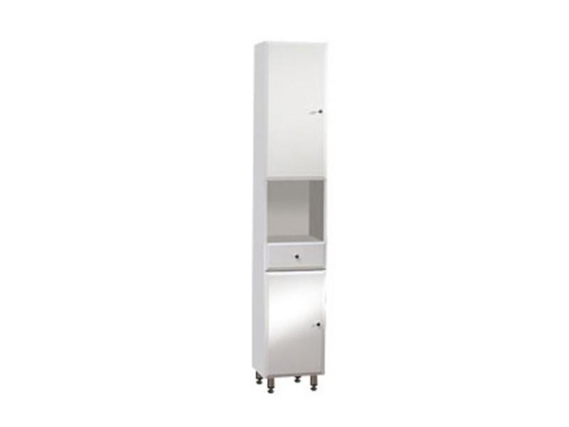 BEATA V 32 ZV L Well Koupelnová skříňka vysoká závěsná s nožičkami, levá