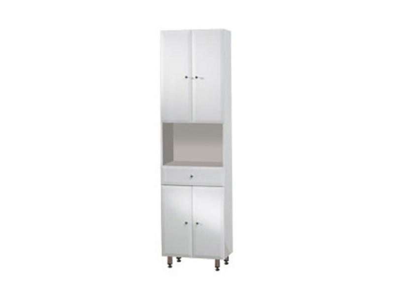 BEATA V 50 ZV Well Koupelnová skříňka vysoká, závěsná s nožičkami