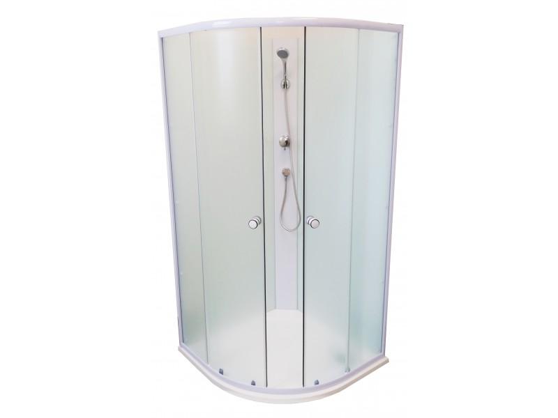 BIANCA 90 SOFIA Well Sprchový box s mramorovou vaničkou