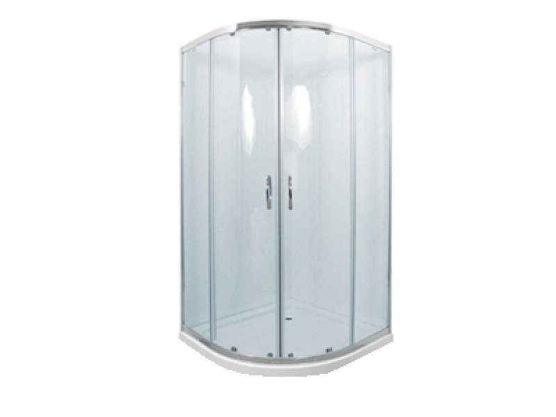 CATANIA 80 clear MRAMOR Well sprchový kout s mramorovou vaničkou