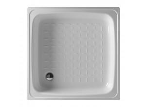KITEN I  80 Olsen-Spa Smaltovaná plechová sprchová vanička, výška 8 cm