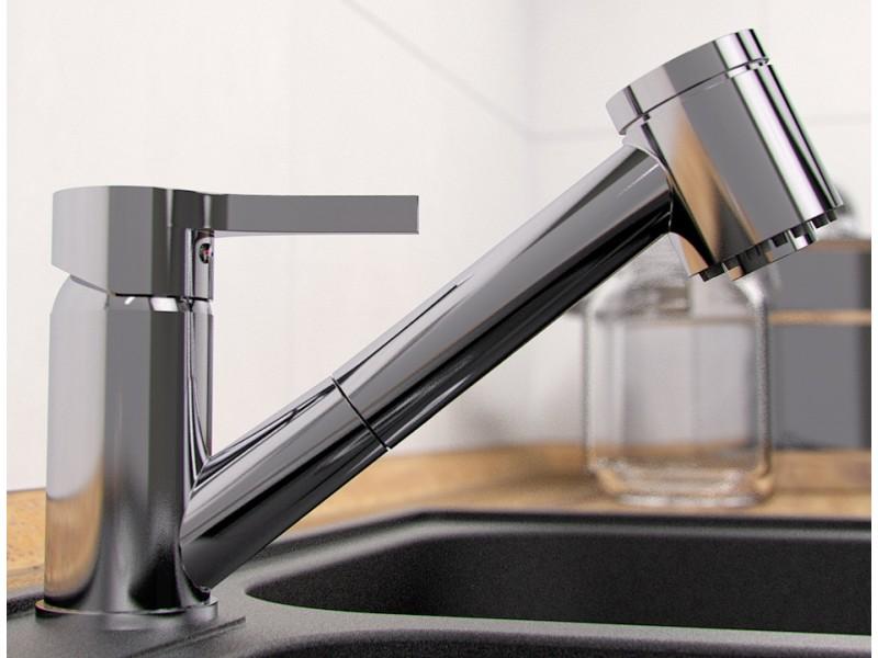 LISSA Well Dřezová vodovodní baterie s vytahovací sprškou