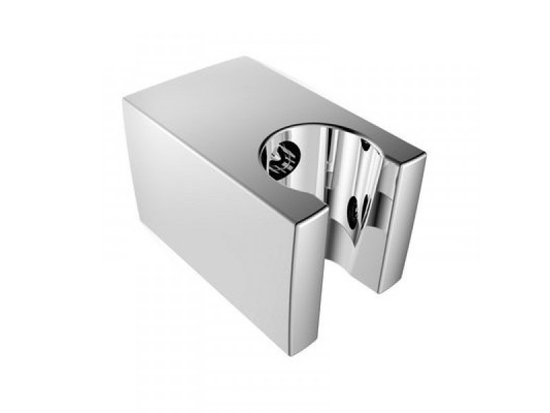 SK050 Pevný držák sprchy, hranatý, 57mm, ABS/chrom