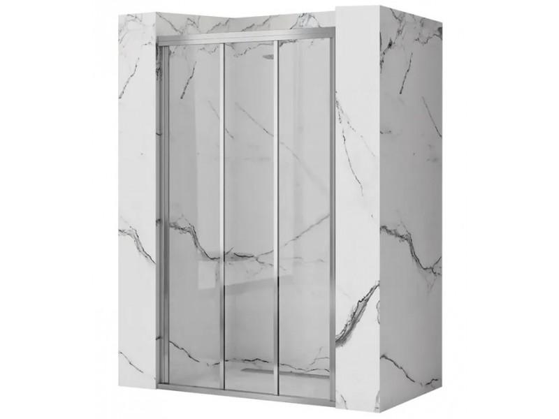 AXEL 91,5-101,5 chrom Well Sprchové dveře trojdílné - posuvné