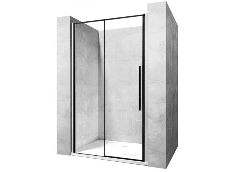 LAROS BLACK 140 Well Sprchové dveře s černými profily