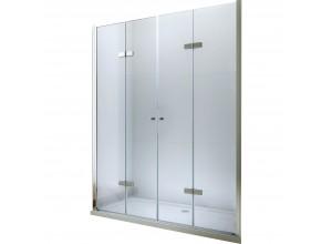 LUCIO DOUBLE 120 Clear Well Sprchové dveře zalamovací