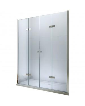 LUCIO DOUBLE 127 Clear Well Sprchové dveře zalamovací