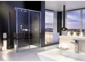 NYCity COMBI 160x90 Clear Sprchová zástěna s posuvnými dveřmi