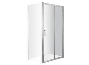 NYCity 120 Clear Sprchové dveře posuvné