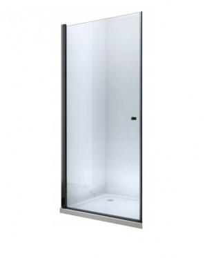 PILAR Black 80 Clear Well Sprchové dveře