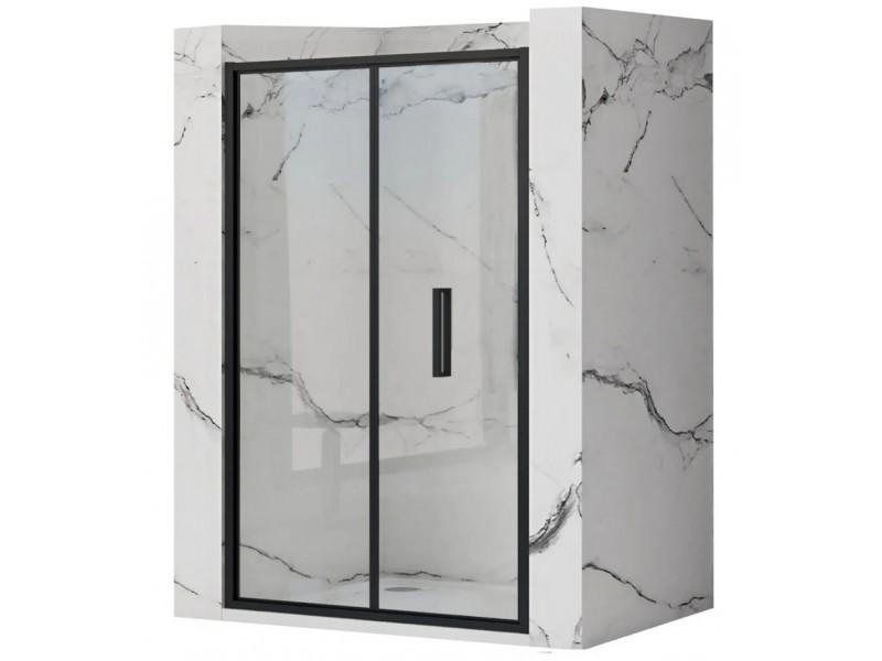 RAFO BLACK 80 Well Sprchové dveře zalamovací