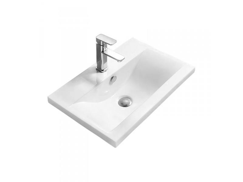 EMMEX Well umyvadlo zápustné 51 x 39 cm bílé