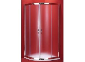BARCELONA 100×100 chrom rám čirá Olsen-Spa sprchový kout ,6mm čiré