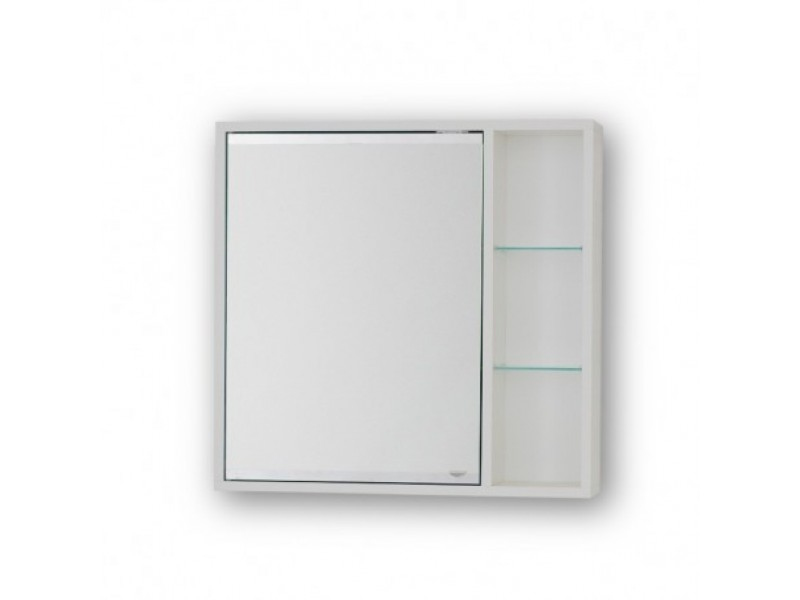 SÉVIS 50 Olsen-Spa Horní závěsná zrcadlová skříňka - 50 x 58,5 x 14 cm