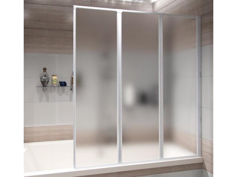 IMPER WHITE 120 x 139 cm Well Vanová zástěna