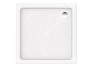 ASTRO 80 Keramická čtvercová sprchová vanička