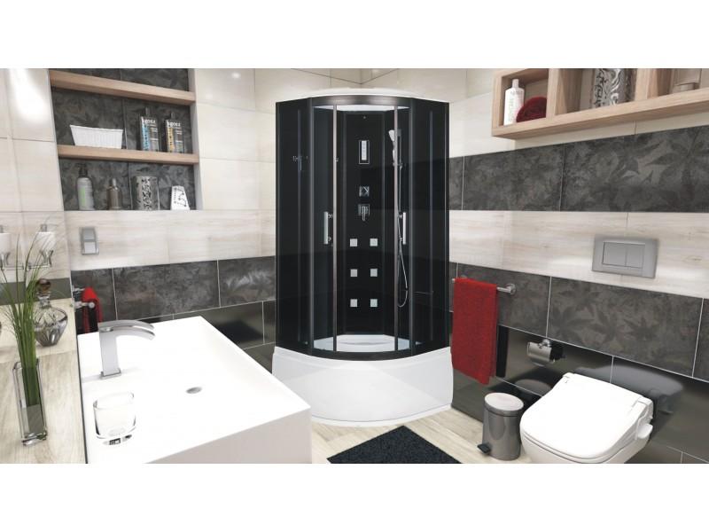 RALPH 90 Well Sprchový masážní box + sifon ZDARMA