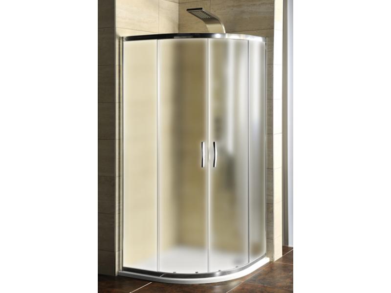 AG4295 ETERNO Sprchový kout čtvrtkruhový s vaničkou z litého mramoru,  90×90 cm