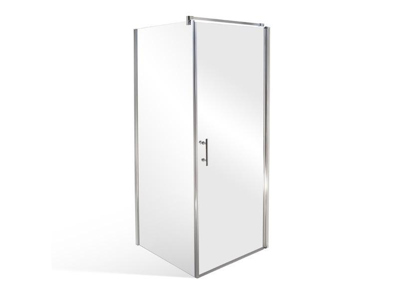 ELISON 80 x 90 cm Well Luxusní obdélníková sprchová zástěna
