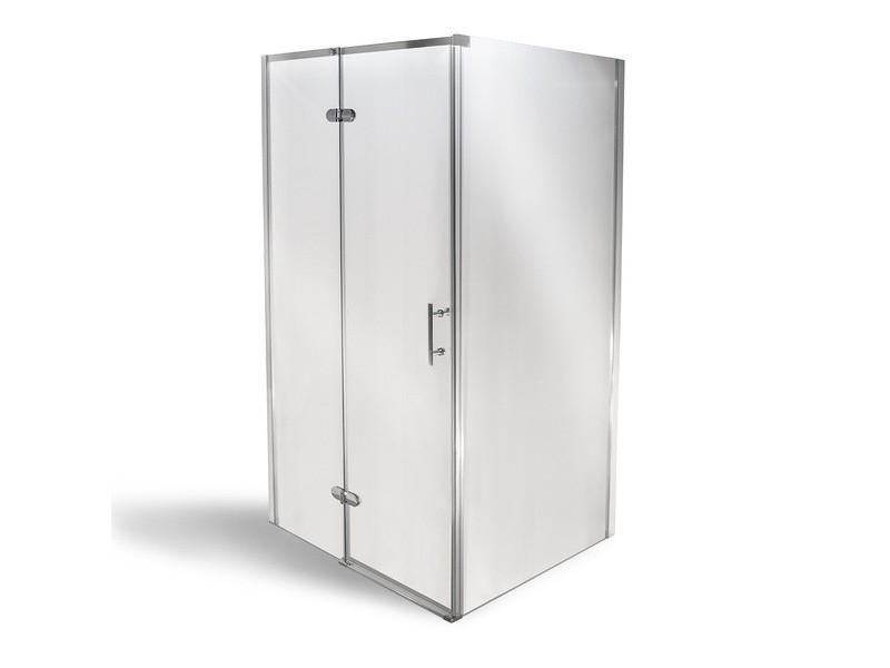 MANU PLOVDIV 80 x 100 cm MRAMOR Well Luxusní obdélníková sprchová zástěna s vaničkou