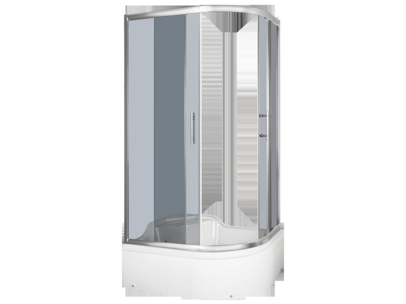 ROSE 100 Levá Well sprchový kout