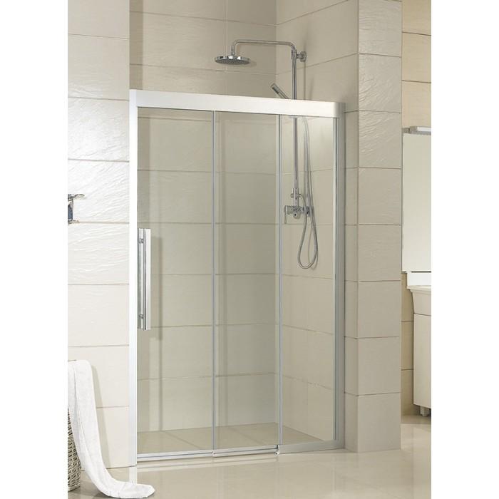 MARTAS 100 Pravé Sprchové dveře trojdílné - bezbariérové