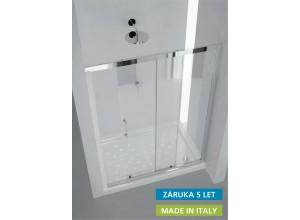 MAYA 145×190 cm sklo čiré Hopa sprchové dveře