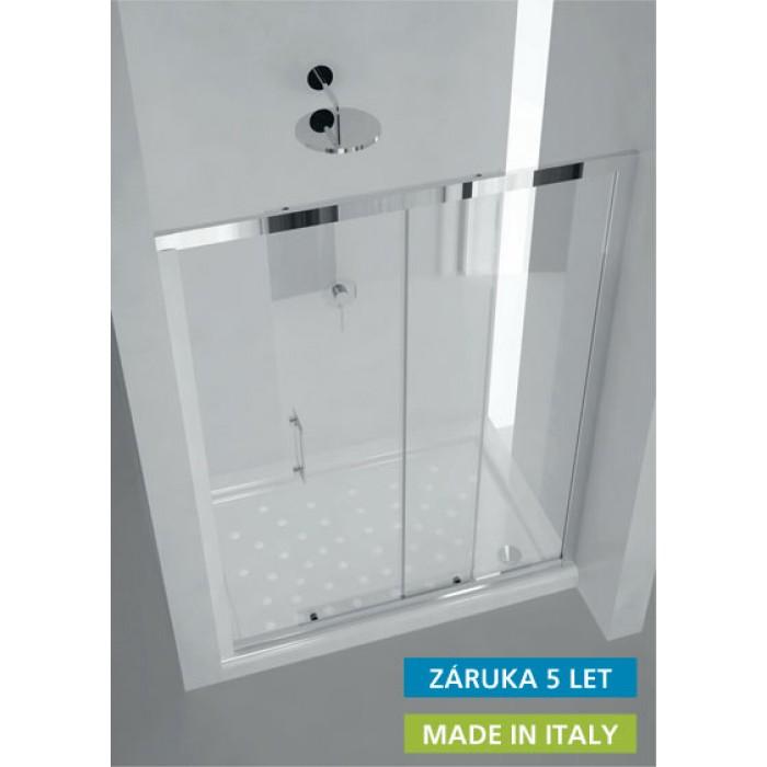 MAYA 180×190 cm sklo čiré Hopa sprchové dveře