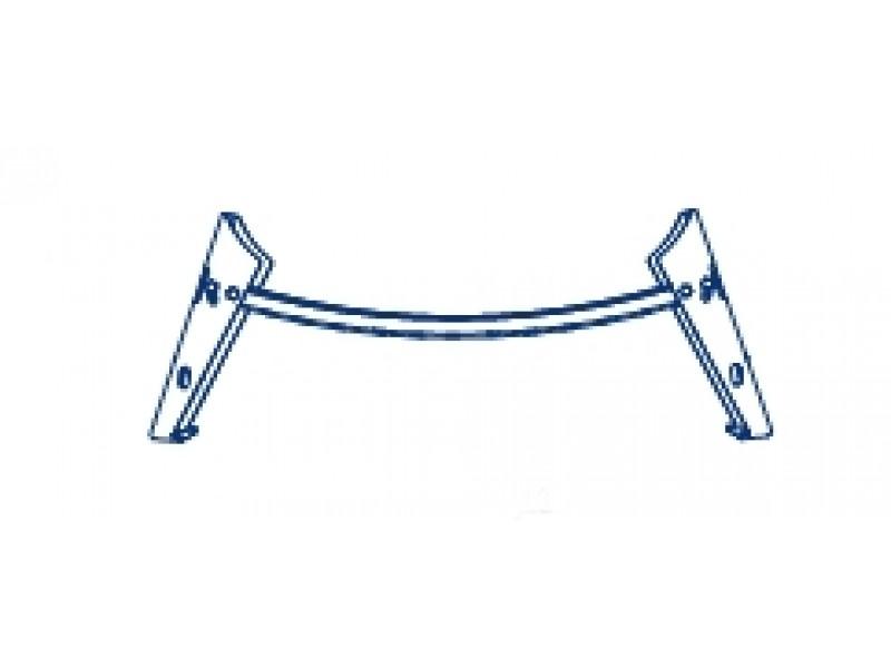 FERRARA Olsen-Spa kovové nožičky k vaně