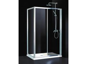 ELCHE II KOMBI 140 x 80 čiré Hopa Obdélníkový sprchový kout