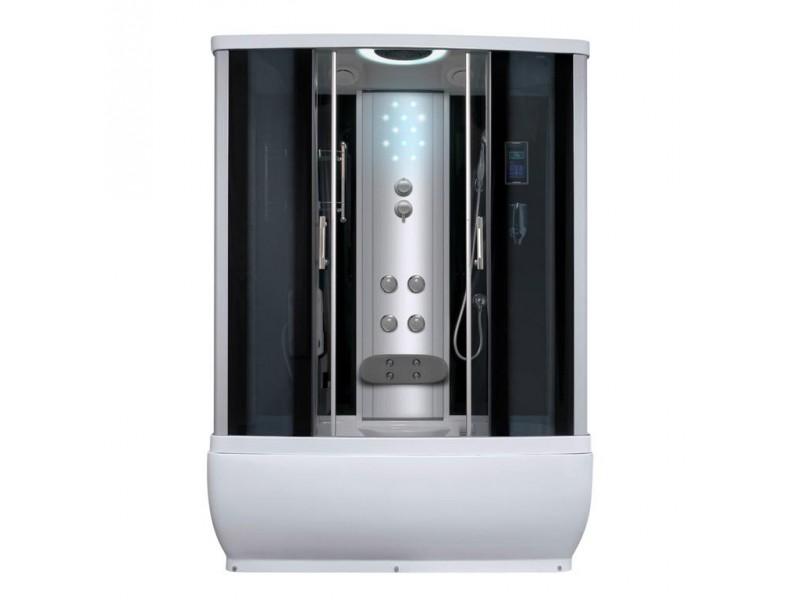PATRIK LUX 170 Well sprchový masážní box s velkou vanou + Sifon ZDARMA