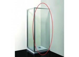 SMART - PINA čiré 100 x 190 cm Pevná stěna
