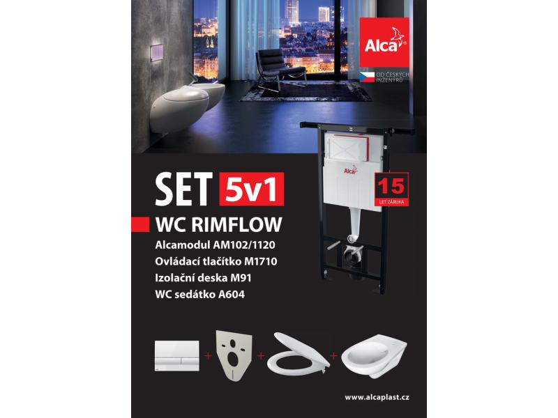 Set 5v1 AM102/1120, WC Rimflow