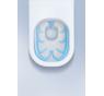 RIMLESS Závěsný klozet - bez oplachového kruhu H8207140000001