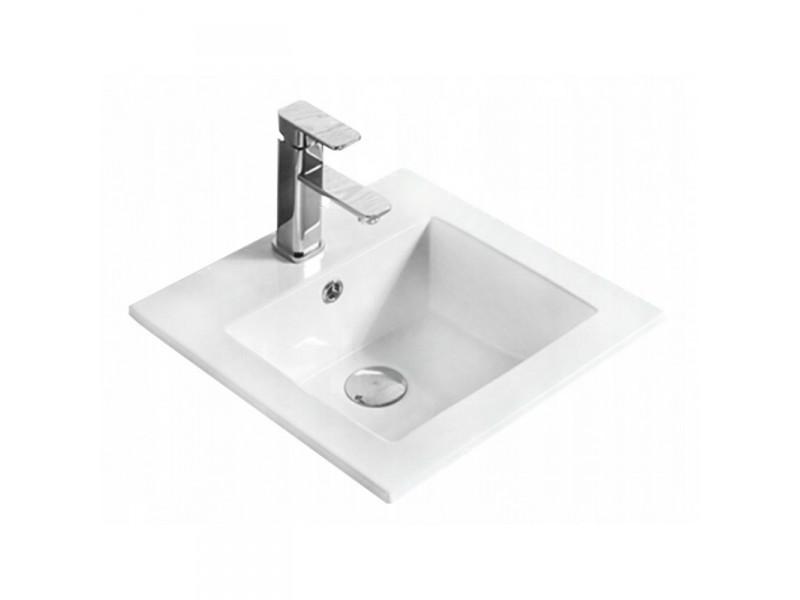 SABRI Well umyvadlo zápustné 42 x 42 cm bílé