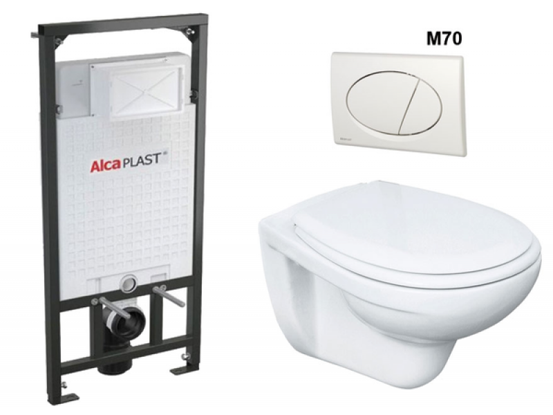 A101/1200 + M70 Sádromodul AlcaPLAST kompletní instalační set