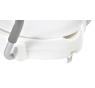 A0072001 WC sedátko zvýšené s madly a víkem - bílé